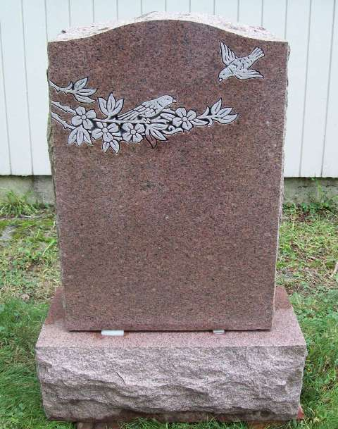 The gallery for gt upright headstone designs