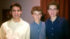 TRINITY TRIO: Manny Morales, Willie Grear and Max Grear