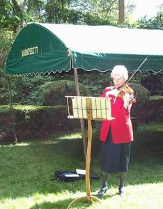 Patricia Petersen, Violinist