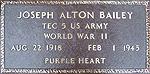 Veterans Flat Bronze Marker